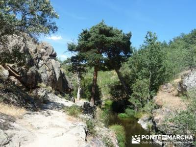 Las Pesquerías Reales - Senderismo Segovia (Ruta de las Pesquerías Reales); senderismos